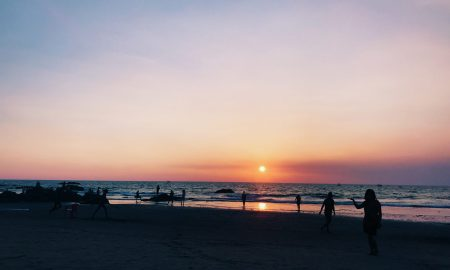 SunsetAtVagatorBeach