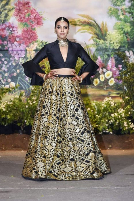 Swara Bhaskar At Sonam Kapoor Wedding Reception